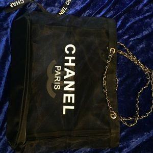 Chanel Paris vip mesh bag